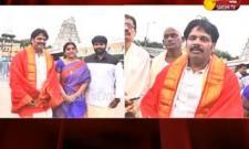 Minister Adimulapu Suresh Visits Tirumala - Sakshi