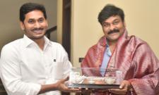 Megastar Chiranjeevi Meets CM YS Jagan Mohan Reddy - Sakshi