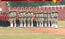 DSP Passing Out Parade in Mangalagiri