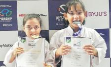 Disha And Ali Mohammad Got Gold Medals - Sakshi