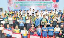 Snehit And Praneeth Got Table Tennis Titles - Sakshi