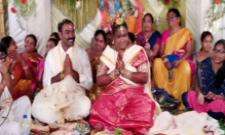 Araku MP Goddeti Madhavi Married Childhood Friend - Sakshi