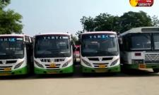 TSRTC Employees Protest continues