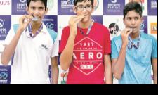 Ishan Dubey Emerges Sports For All Event Champion - Sakshi
