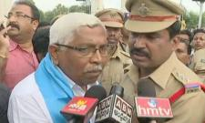 TJS Chief Kodandaram & Others Arrested