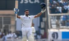 Rohit Emulates Sachin And Sehwag With Double Hundred - Sakshi