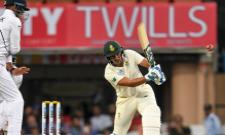 Hamza Maiden Fifty Against Team India - Sakshi