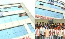 Shine Childrens Hospital Seized In LB Nagar