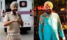 Pop star Singer Daler Mehendi Shares Chandigarh Police Sang Pop Song And Control Traffic  - Sakshi