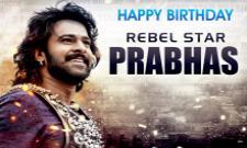 Baahubali Prabhas Happy Birthday Special - Sakshi