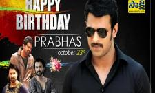 Hero Prabhas Birthday Special
