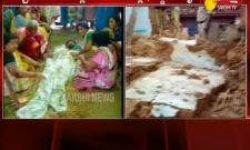 Two of family killed as house collapses due to heavy rains in west godavari