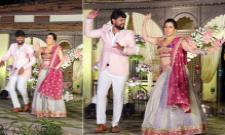 Telugu Actress Archana Marriage Sangeet Function - Sakshi