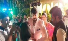 Telugu Actress Archana Marriage Sangeet