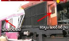 Trains collide near Kacheguda railway station