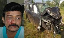 Telugu Hero Rajasekhar Escapes With Minor Injuries