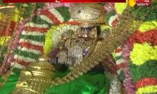 Garuda Seva:Tirumala occupied by devotees