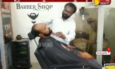TSRTC Conductor Work In Barber Shop
