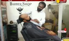 TSRTC Conductor Work In Barber Shop