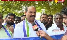 YSRCP MLA Parthasarathy Sand Deeksha at Vijayawada