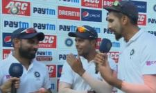 What Are You Doing Shami To Hit Pads With Your Bowling Ishant Asks - Sakshi