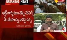 Telangana,KCR To Hold Review Meeting On RTC Strike in Today Evening - Sakshi