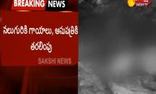 Road Accident: Lorry Container Crashes Other Vehicles Chittoor District - Sakshi