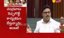 MLA Ambati Rambabu Slams Chandrababu Naidu In Ap Assembly - Sakshi