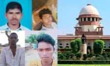 Supreme Court Orders Over Hyderabad Disha Case Accused Encounter PIL - Sakshi