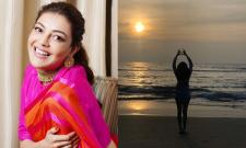 Kajal Aggarwal Beach Photos Viral in Social Media - Sakshi