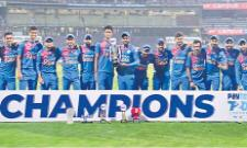 India Beat West Indies In 3rd T20 To Win Series - Sakshi