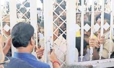 Chandrababu Naidu and Lokesh Misbehaviour On Marshalls