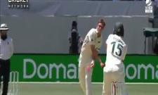 David Warner Gets Angry at Tim Southee - Sakshi