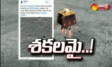 NASA Finds Vikram Lander Releases Images Of Impact- Sakshi