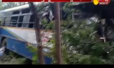 Road Accident in Srisailam Ghat Road