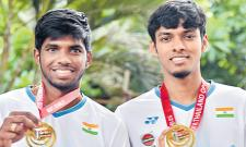 Satwik, Chirag Nominated For Most Improved Player At BWF Awards - Sakshi