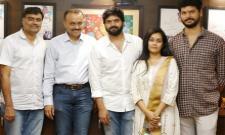 Tollywood Hero Sree Vishnu Latest Movie Starts Today - Sakshi