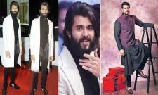New look For Youth icon Vijay Devarakonda Fashion - Sakshi