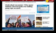 Hyderabad Encounter is Trending in Social Media