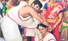 Badminton Player Sai Praneeth Gets Married - Sakshi