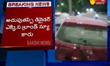 Road Accident In Hyderabad Rajendra Nagar - Sakshi