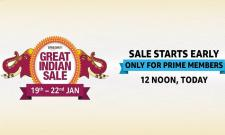 Amazon Great Indian Sale 2020 Begins Today for Prime Members - Sakshi