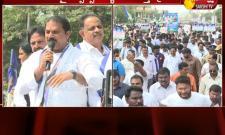 Minister Vellampalli Srinivas Fire On Chandrababu Naidu At Rally Supporting 3 Capitals For Andhra Pradesh - Sakshi