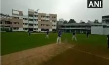 CJI Bobde enjoys game of cricket in Nagpur