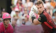 Aaron Finch Slams Century In BBL - Sakshi