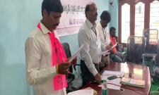 Kantekar MadhuMohan Swearing In As Tukkuguda Municipality Chairperson - Sakshi
