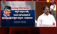 Minister Mopidevi Venkata Ramana Fires On Chandrababu - Sakshi