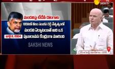 Deputy CM Pilli Subhash Chandra Bose Comments On TDP - Sakshi