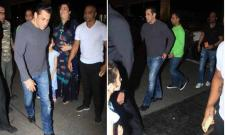 Salman Khan Loses Cool Snatches Fan Phone At Goa Airport - Sakshi