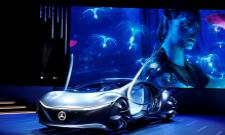 Mercedes-Benz Launches Avatar-themed concept car - Sakshi